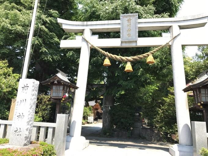 前川神社一の鳥居