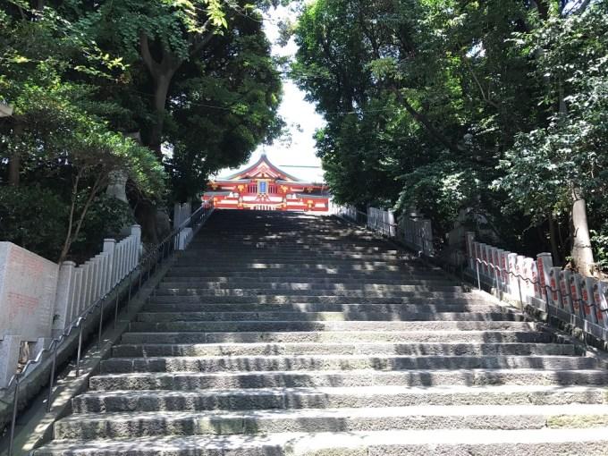 日枝神社男坂