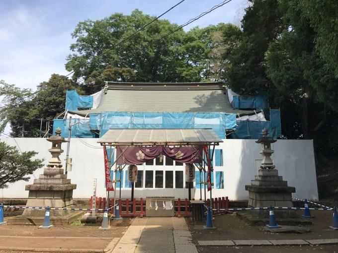 三芳野神社拝殿