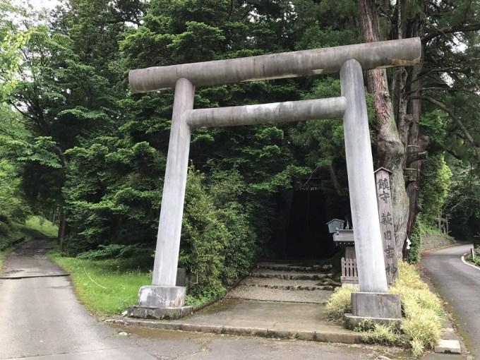 萩日吉神社一の鳥居