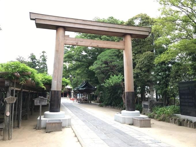 久伊豆神社第三鳥居