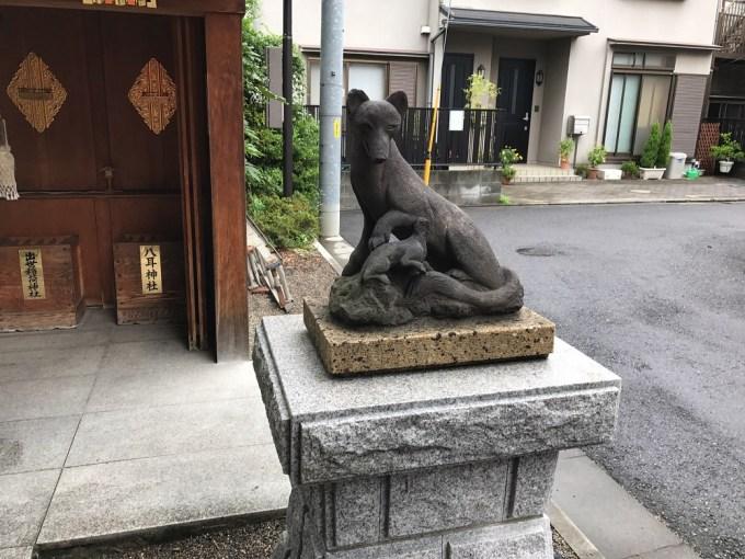 赤城神社駒狐右