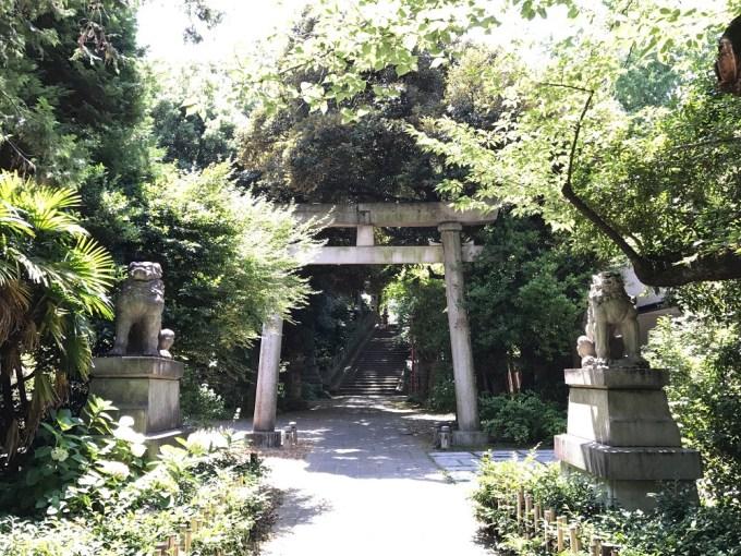 赤坂氷川神社東一の鳥居