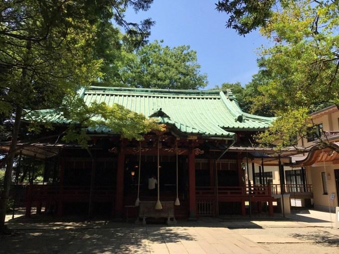 赤坂氷川神社拝殿