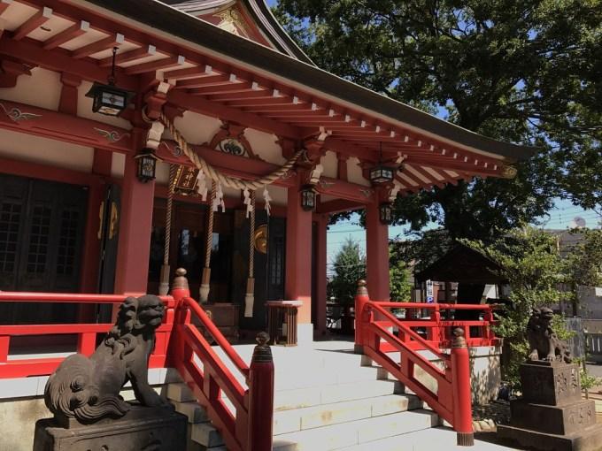 越谷香取神社拝殿