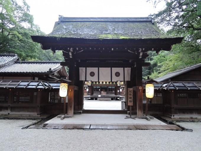河合神社神門