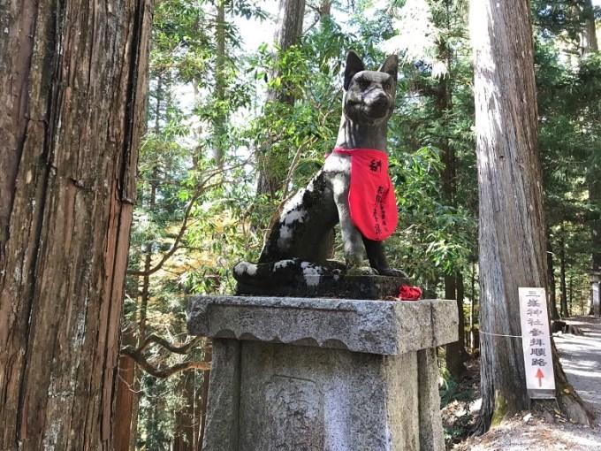三峯神社狛狼左2