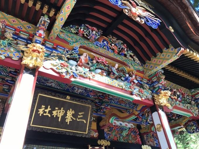 三峯神社拝殿3