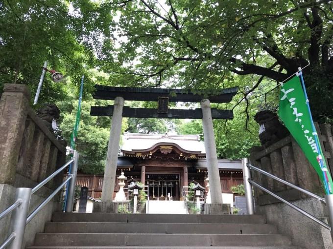 鳩ヶ谷氷川神社三の鳥居