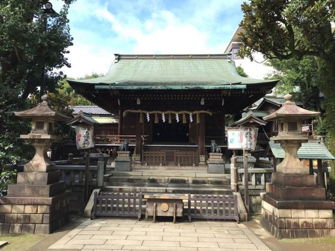五條天神社拝殿