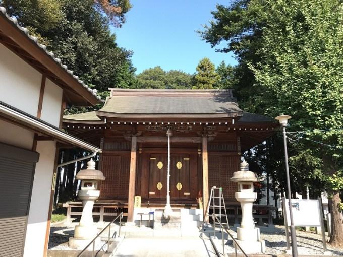 仙波日枝神社拝殿