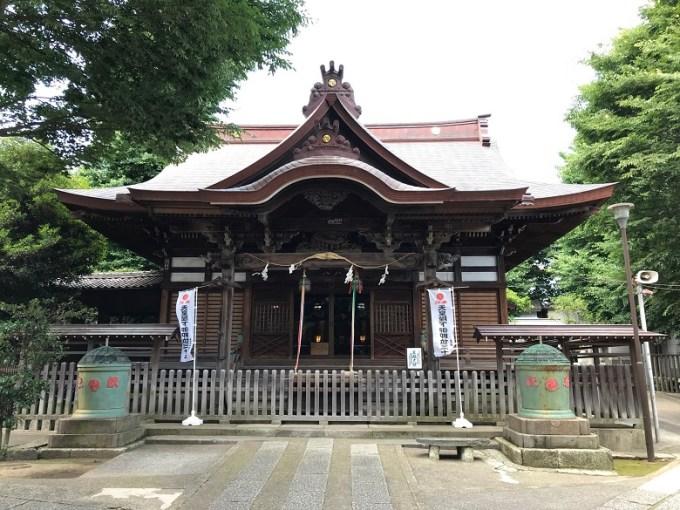 滝野川八幡神社拝殿