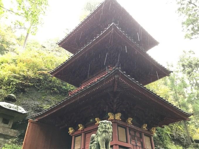 榛名神社神宝殿
