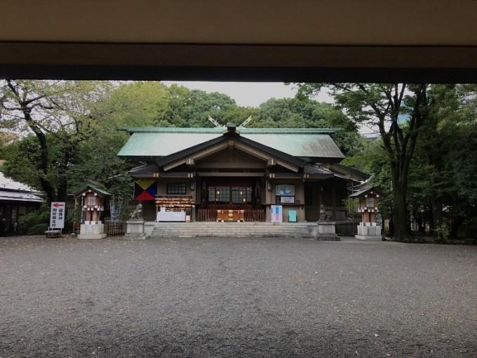東郷神社拝殿