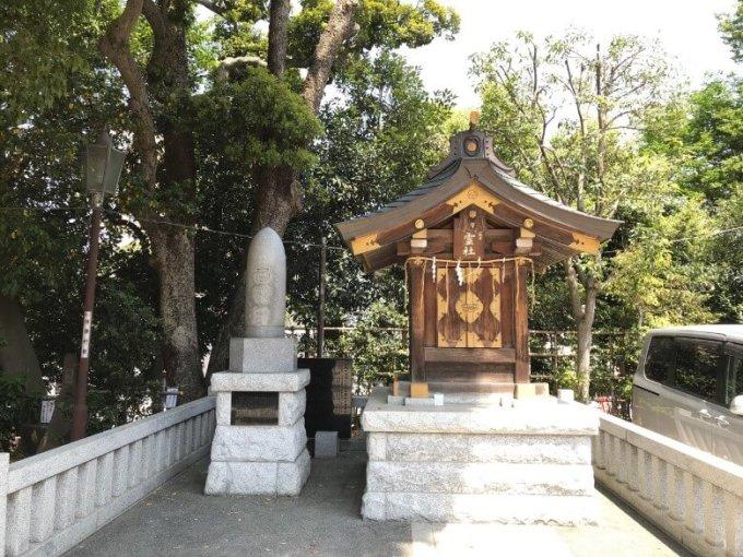 品川神社祖霊社