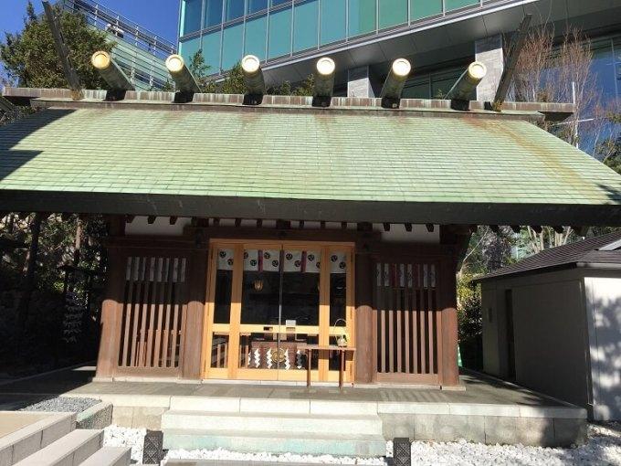 六本木天祖神社拝殿
