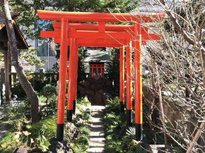 六本木天祖神社満福稲荷神社