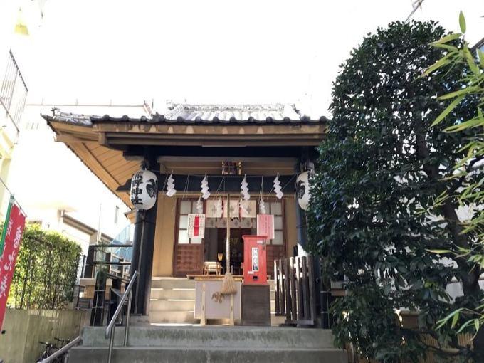 飯倉熊野神社拝殿