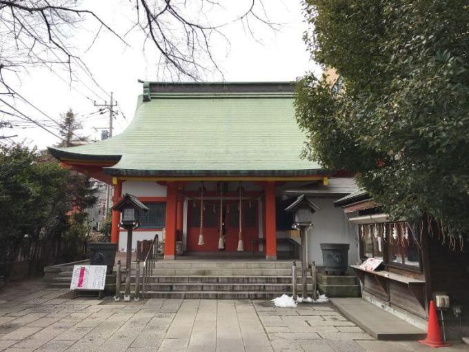 氷川鍬神社拝殿