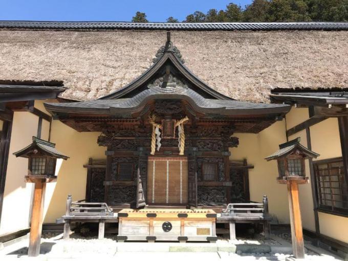 古峯神社拝殿
