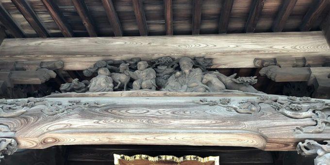 芳川神社彫刻