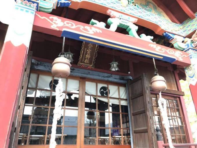 鹿沼今宮神社拝殿