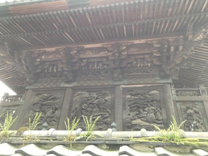 下総野田愛宕神社彫刻2