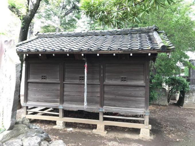下総野田愛宕神社三社殿