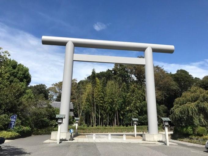 櫻木神社大鳥居