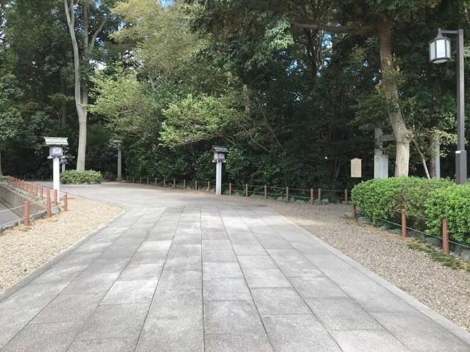 櫻木神社参道