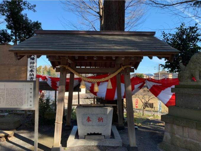 糀谷八幡神社手水舎