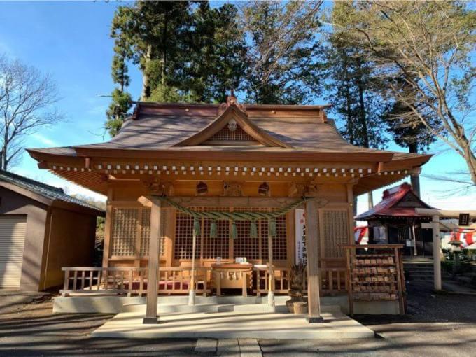 糀谷八幡神社拝殿