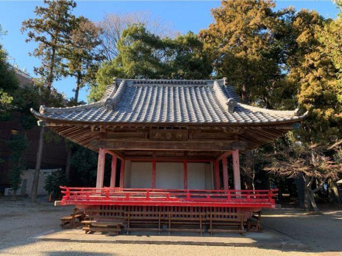 箭弓稲荷神社神楽殿