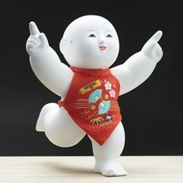 木彫御所人形 「一番」
