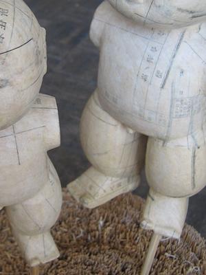 塗る前の人形