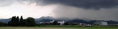 怪しげな雲…