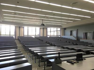 いつもの大教室