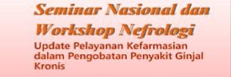 Seminar Nasional dan Workshop Nefrologi