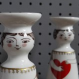 Altenkunstadt ceramic candle holders