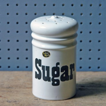 Vintage Arthur Wood sugar shaker | H is for Home