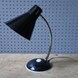Vintage black goose neck desk lamp | H is for Home