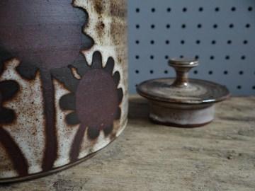 Briglin Pottery tea pot