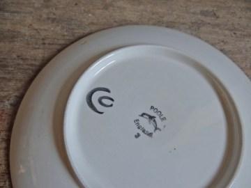 Carol Cutler Poole Pottery plate