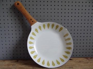 green Cathrineholm skillet pan