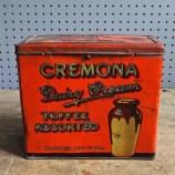 Cremona toffee tin