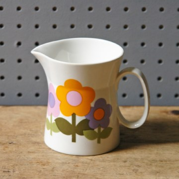 Vintage Dolly Days milk jug | H is for Home