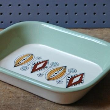 Vintage Egersund Flint serving dish | H is for Home