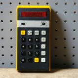 Vintage elka 101 calculator | H is for Home