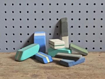 vintage erasers