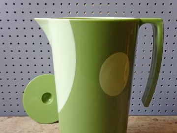 Two-tone green water jug | H is for Home